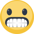 Grimacing Face on Facebook 2.1