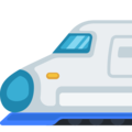 High-Speed Train With Bullet Nose on Facebook 2.1