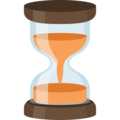Hourglass With Flowing Sand on Facebook 2.1