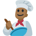 Man Cook: Medium-Dark Skin Tone on Facebook 2.1