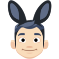 Men With Bunny Ears Partying, Type-1-2 on Facebook 2.1