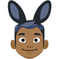 Men With Bunny Ears Partying, Type-5 on Facebook 2.1