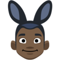 Men With Bunny Ears Partying, Type-6 on Facebook 2.1