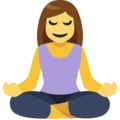 Person in Lotus Position on Facebook 2.1