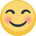 Smiling Face With Smiling Eyes on Facebook 2.1