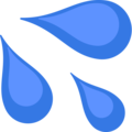 Sweat Droplets on Facebook 2.1