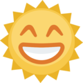 Sun With Face on Facebook 2.1