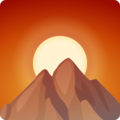 Sunrise Over Mountains on Facebook 2.1