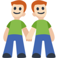 Two Men Holding Hands, Type-1-2 on Facebook 2.1