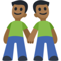 Two Men Holding Hands, Type-5 on Facebook 2.1