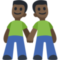 Two Men Holding Hands, Type-6 on Facebook 2.1