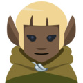 Elf: Dark Skin Tone on Facebook 2.2