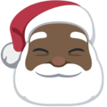 Santa Claus: Dark Skin Tone on Facebook 2.2
