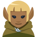 Man Elf: Medium-Dark Skin Tone on Facebook 2.2