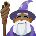 Man Mage: Medium-Dark Skin Tone on Facebook 2.2