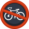 No Bicycles on Facebook 2.2
