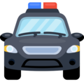 Oncoming Police Car on Facebook 2.2