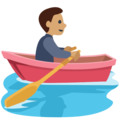 Person Rowing Boat: Medium Skin Tone on Facebook 2.2