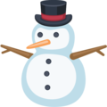Snowman Without Snow on Facebook 2.2