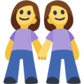 Two Women Holding Hands on Facebook 2.2