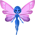 Woman Fairy: Medium Skin Tone on Facebook 2.2