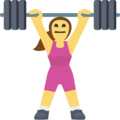 Woman Lifting Weights on Facebook 2.2