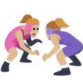 Women Wrestling, Type-3 on Facebook 2.2