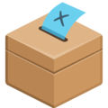 Ballot Box With Ballot on Facebook 2.2.1