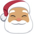 Santa Claus: Medium Skin Tone on Facebook 2.2.1