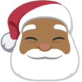 Santa Claus: Medium-Dark Skin Tone on Facebook 2.2.1