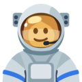Woman Astronaut: Medium Skin Tone on Facebook 2.2.1