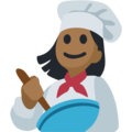 Woman Cook: Medium-Dark Skin Tone on Facebook 2.2.1