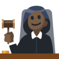 Woman Judge: Dark Skin Tone on Facebook 2.2.1