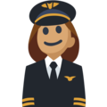 Woman Pilot: Medium Skin Tone on Facebook 2.2.1