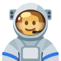 Man Astronaut: Medium Skin Tone on Facebook 2.2.1