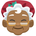 Mrs. Claus: Medium-Dark Skin Tone on Facebook 2.2.1