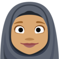 Person With Headscarf: Medium Skin Tone on Facebook 2.2.1