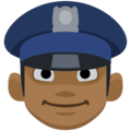 Police Officer: Medium-Dark Skin Tone on Facebook 2.2.1