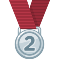 2nd Place Medal on Facebook 2.2.1