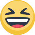 Grinning Squinting Face on Facebook 2.2.1