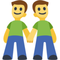 Two Men Holding Hands on Facebook 2.2.1