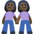 Two Women Holding Hands, Type-6 on Facebook 2.2.1
