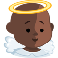 Baby Angel: Dark Skin Tone on Messenger 1.0