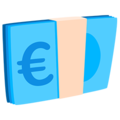 Euro Banknote on Messenger 1.0