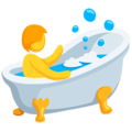 Person Taking Bath on Messenger 1.0