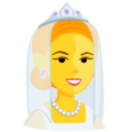 Bride With Veil on Messenger 1.0