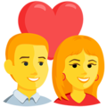 Couple With Heart on Messenger 1.0