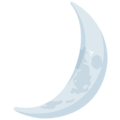 Crescent Moon on Messenger 1.0