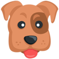 Dog Face Emoji - photo#24