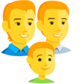 Family: Man, Man, Boy on Messenger 1.0